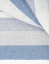 Japanes yarn-dye reversible stripe cotton - blue