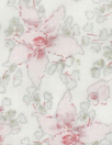 NY designer vintage floral cotton voile 4 yds Minor Flaw