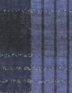 Italian navy/midnight/lurex plaid cotton voile