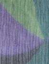 Italian purple/teal/green crinkle silk chiffon