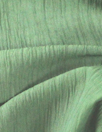 Italian crinkle-textured voile - loden frost