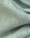 European poly/cotton/linen blend woven - dusty aqua