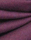 European poly/cotton/linen blend woven - plum