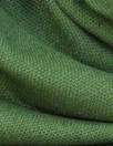 European poly/cotton/linen blend woven - forest