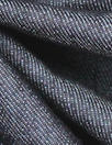 Italian dark blue twill weave stretch denim