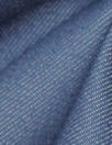 cotton/recycled poly/spandex stretch denim - soft blue