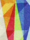 French digital viscose knit - 3-D graphic 1.5 yd