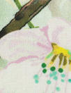 apple blossoms lightweight cotton lawn