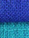 Italian wool blend doublecloth 'rustic' suiting - cobalt/capri