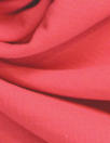 Italian stretch cotton blend doublecloth- coral red