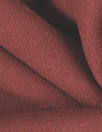 Italian wool doublecloth boho twill coating - henna