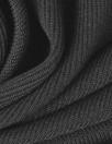 3.1 Phi11ip Lim thick ribbed knit -black