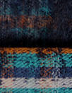Italian infused plaid reversible coating - cinnamon/teal