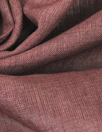 Dublin light weight cross dye linen - dusty wine