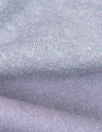 organic eco fleece-backed sweatshirt knit - lavender-gray