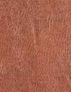 Italian water-resistant faux leather - rustic brown
