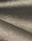 viscose-backed supple faux leather - nickel