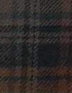 CA designer yarn-dye cotton plaid flannel - navy/clay