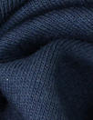 Oeko-Tex cert. bamboo/cotton fleece-back knit - marine