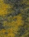 Italian dijon/navy design boiled wool fleece 1 yard