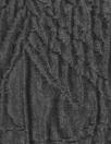 Italian 'cellular swirl' textured matelasse brocade - black