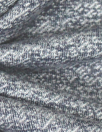french terry knit tweed - denimy blue