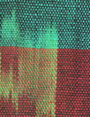 Guatemalan hand-loomed ikat - motif and stripe