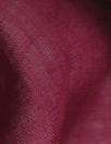 European lightweight linen woven - cranberry wine