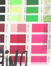 Italian digital viscose knit - color story, brights