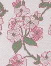 famous designer floral jacquard doubleknit - mauve/sage