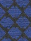 CA designer blue/black double diamond jacquard