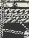 NY designer 'chain gang' stretch jacquard