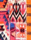 Italian 'persian carpet' panel viscose/spandex knit