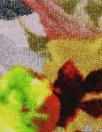 Italian digital viscose knit - dusty lilac bouquet
