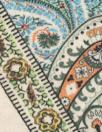 German paisley montage viscose/spandex digital knit
