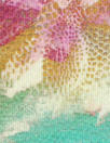 painterly flowers digital viscose knit