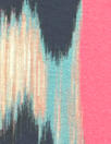 Italian digital viscose knit - 'ikat' abstract