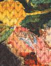 CA designer floral overprinted jacquard knit