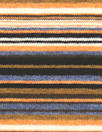 NY designer viscose yarn-dye stripe knit - cinnamon/denim