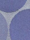famous designer viscose blend lining - blue dots