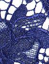 Monique Lhui11er floral guipure lace - sapphire