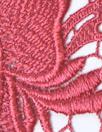Monique Lhui11er floral guipure lace - coral pink