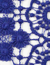 Tah@ri double scallop lace - liberty blue