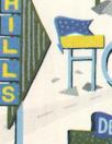 Liberty Art Fabrics: 'Holiday Highway - A' Tana lawn