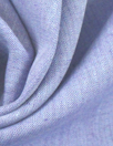 fine quality cross dye linen - light blue/purple