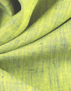 fine quality cross dye linen - yellow/royal