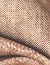 fine quality cross dye linen - ruddy brown