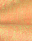 fine quality cross dye linen - orange/lime
