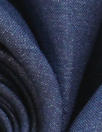 fine quality cross dye linen - blue indigo