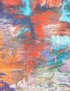 100% linen digital print - artist's palette